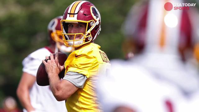 What is at stake for Kirk Cousins, Redskins in training camp?