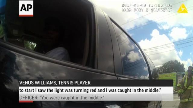 Video: Officer blames Williams for fatal crash