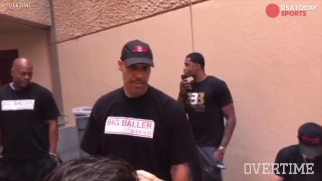 Lavar Ball goes on rant against female official