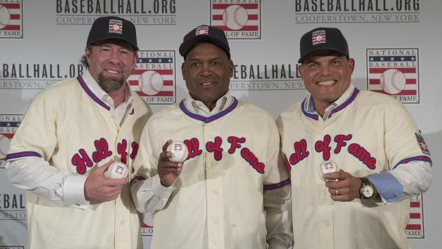 A look at the 2017 Baseball Hall of Fame class