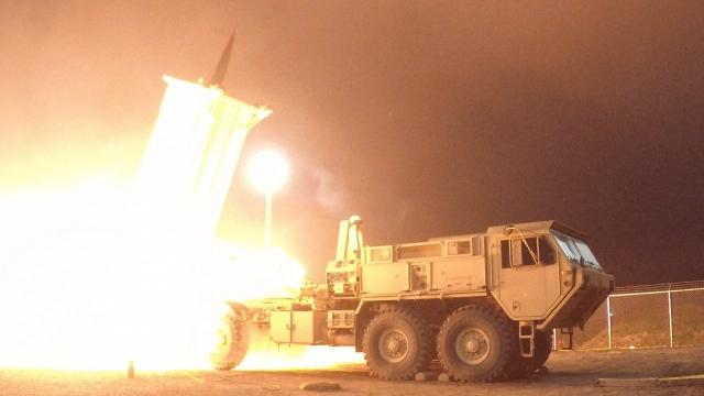 US tests missile defense system