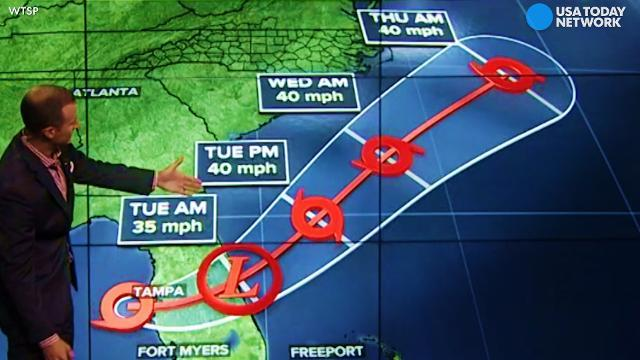 Tropical Storm Emily to track off East Coast