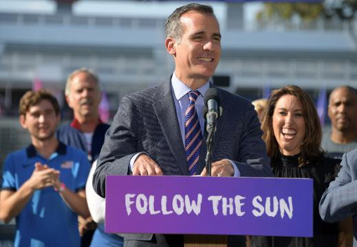 Los Angeles mayor announces Olympics' return to U.S.