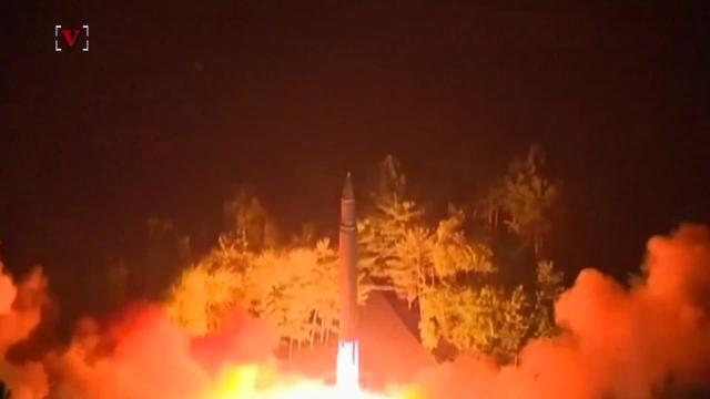 Passenger jet flew over minutes before North Korean missile hit