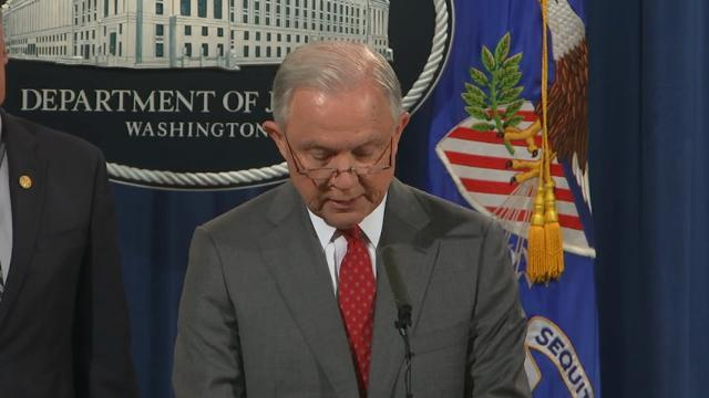 Sessions: 'This culture of leaking must stop'