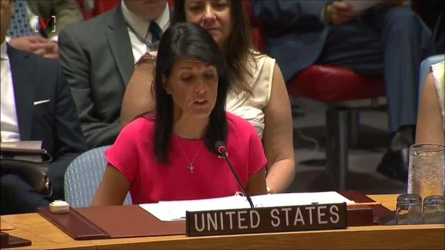 Haley reveals new details about North Korea sanctions
