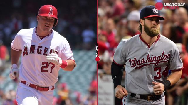 What do Mike Trout and Bryce Harper have in common?