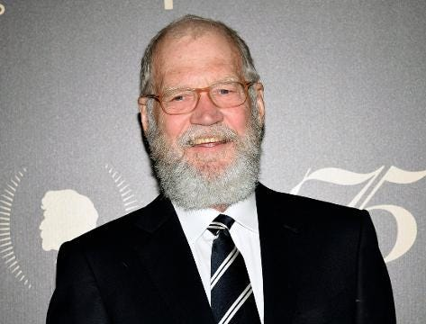 David Letterman is back!