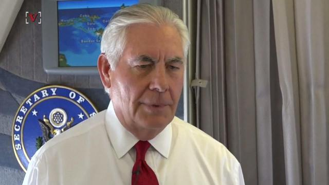 Tillerson: 'Americans should sleep well at night'