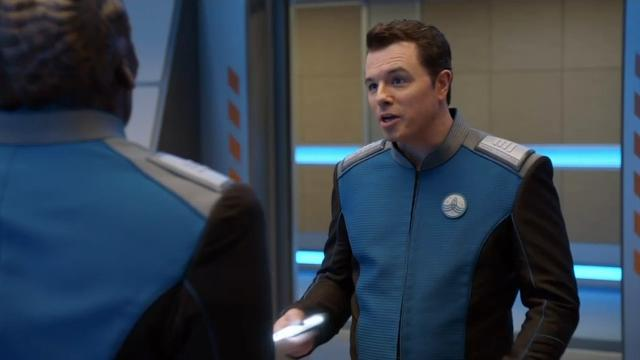 Seth MacFarlane thinks mixing sci-fi and comedy is 'tricky'