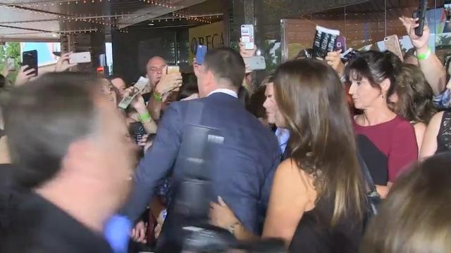 Channing Tatum arrives in Knoxville for charity premiere of 'Lucky Logan'