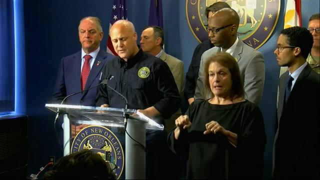 State of emergency declared in New Orleans
