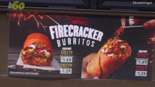 Taco Bell tests firecracker burrito, because why not?