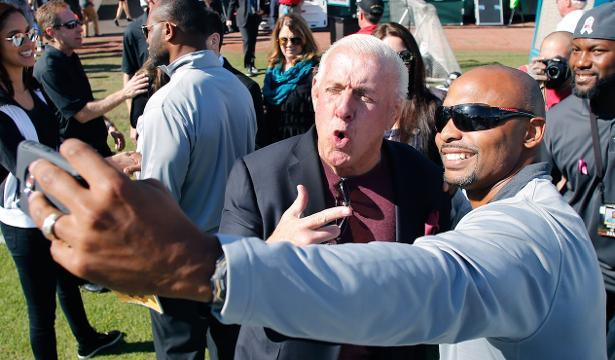 Wrestling legend Ric Flair hospitalized