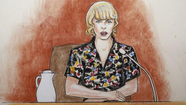 Taylor Swift wins groping case