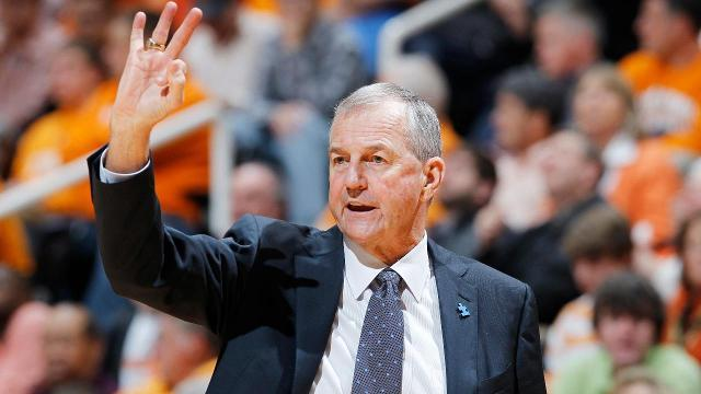 Former UConn coach Jim Calhoun hints at possible return to coaching