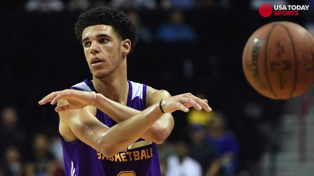 Lonzo Ball says LaVar's antics are a 'positive'