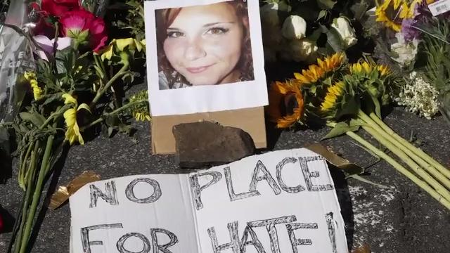 """Heather Heyer's stepfather says """"People are hating on us for losing our child."""" (Aug. 15)"""