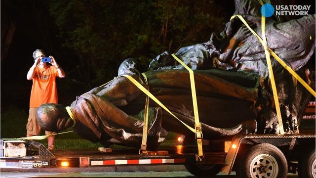 Baltimore removes Confederate monuments