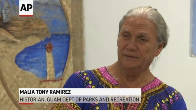Indigenous people call for peace on Guam