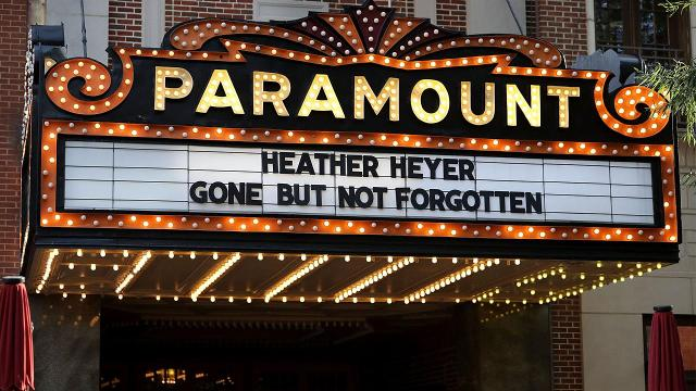 Parents of Heather Heyer pay tribute at memorial service