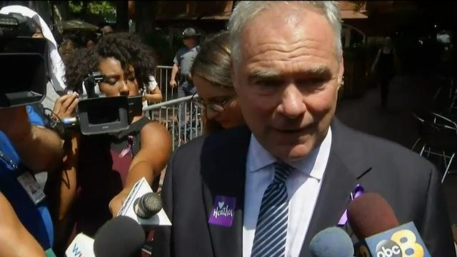 Kaine: 'Will not let anybody drag us backwards'