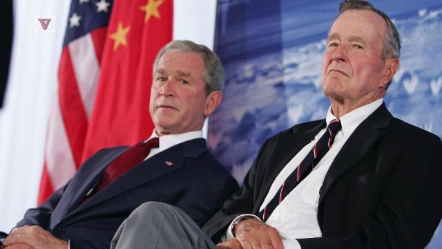 Former Bush Presidents condemn racism after Charlottesville