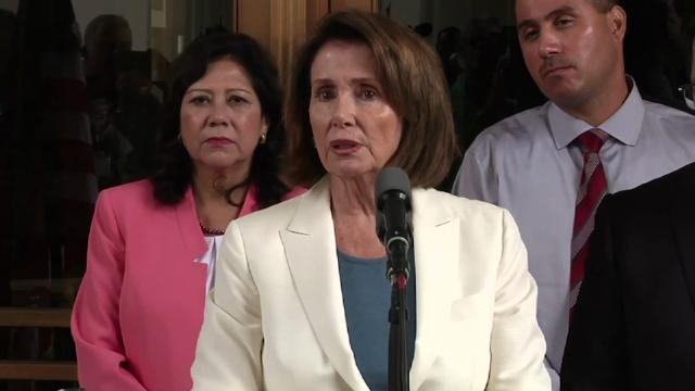 Pelosi Decries Trump, GOP On Response To Racism