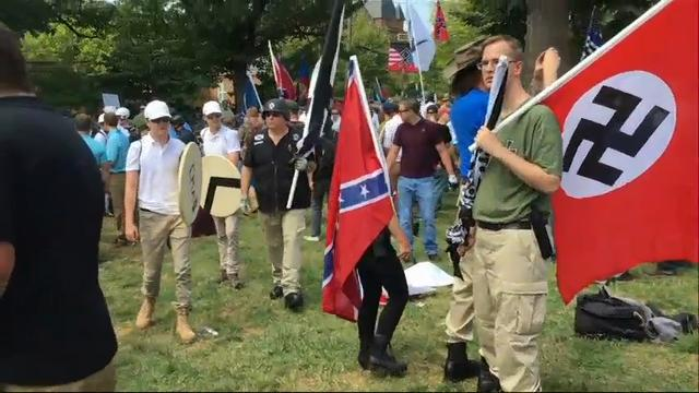 neo nazis and their first amendment rights Instead, we sought court orders prohibiting white-nationalist and neo-nazi groups and their leaders militia organizations purporting to defend the first amendment rights of these groups and a .