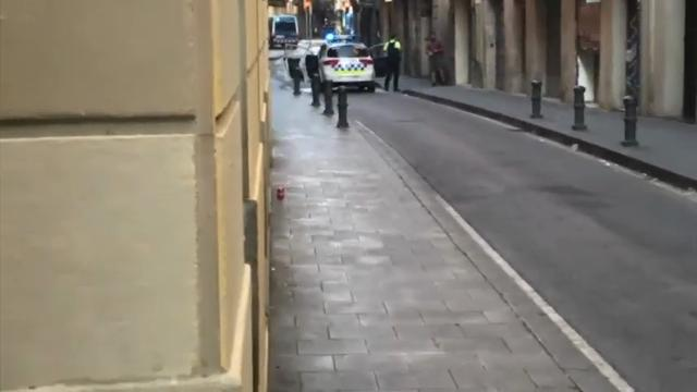 Spanish police eye terrorism in van incident