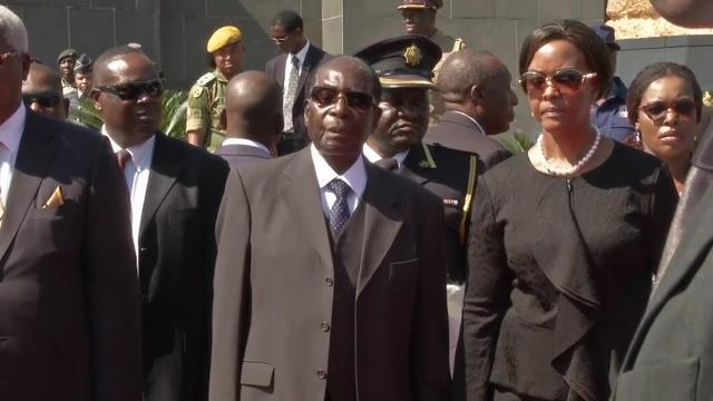 Zimbabwe's first lady accused of assault