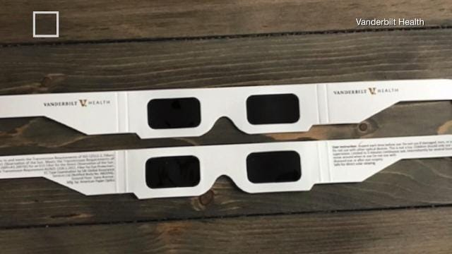 Vanderbilt University recalls 8,000 eclipse viewing glasses