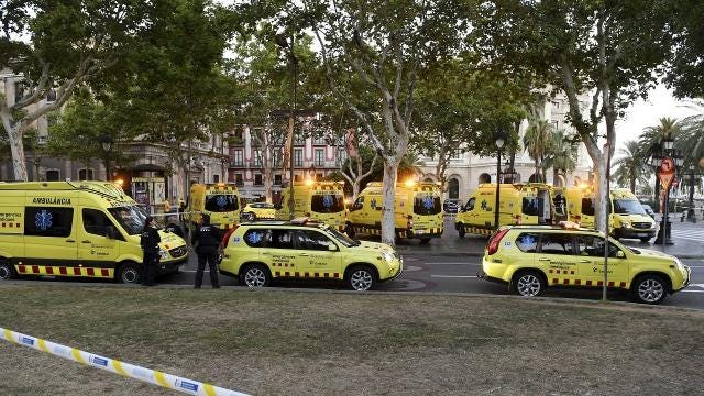 Police arrest 4 in connection with Spain terror attacks