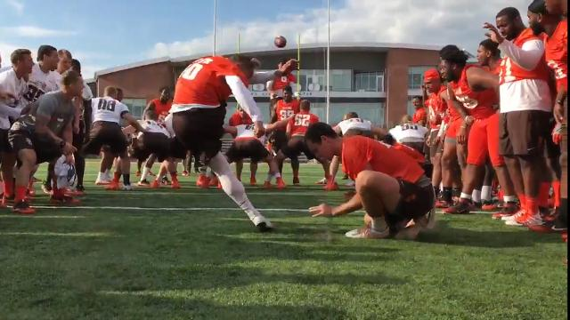 Coach offers scholarship if kicker scores 53-yard field goal