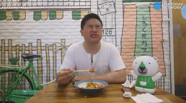 We dare you to conquer this 'spicy noodle' challenge
