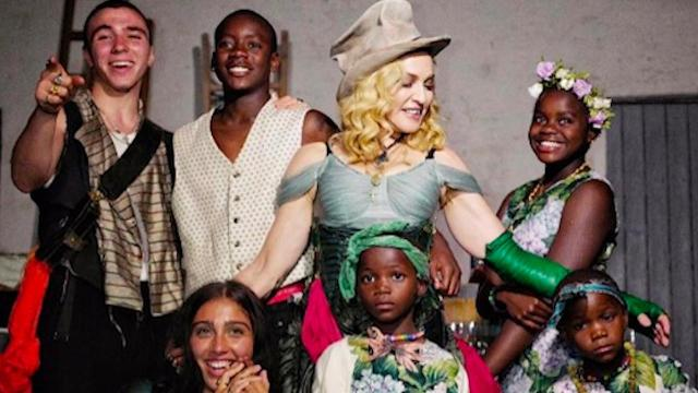 Image result for image of madonna family 59th birthday