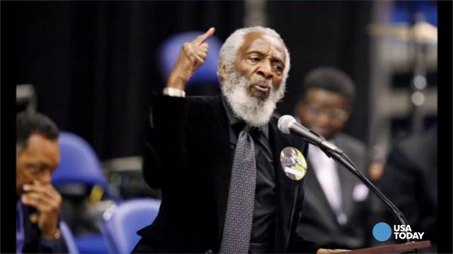 Legendary comic, activist dies