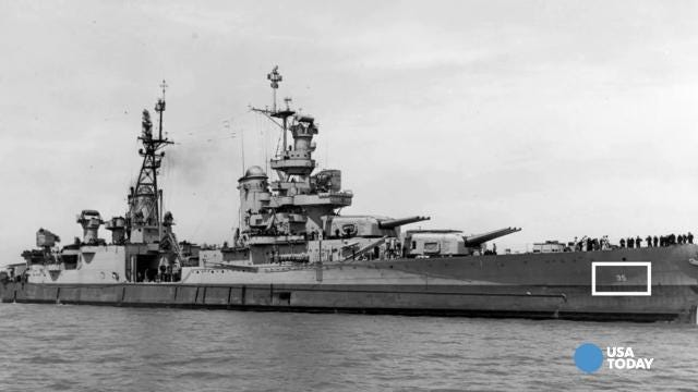 Lost WWII ship found