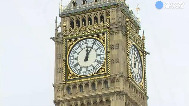 Hear Big Ben's last chime until 2021
