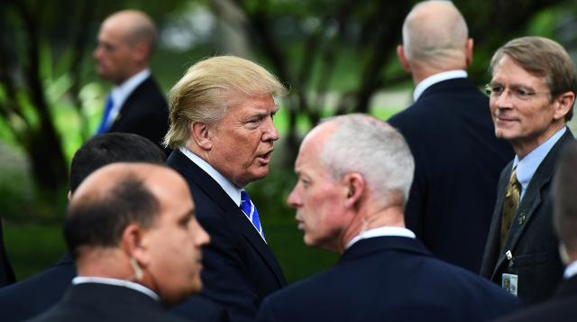ff5b2e9b526 Exclusive: Secret Service depletes funds to pay agents because of Trump's  frequent travel, large family