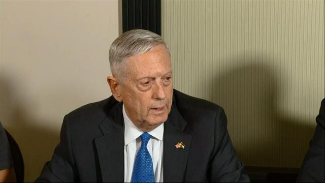 Mattis: Broad Probe Into Pacific Fleet Underway