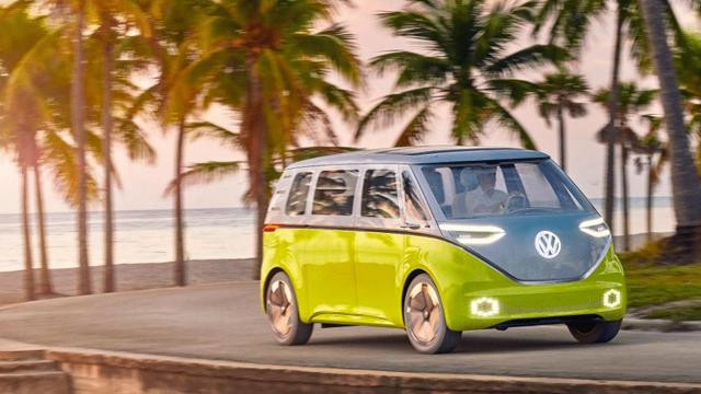 Volkswagen's iconic Microbus is back