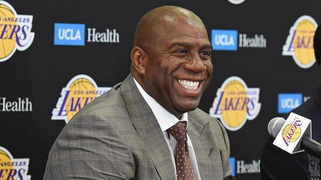 How NBA Could Punish Magic Johnson, Lakers For Tampering