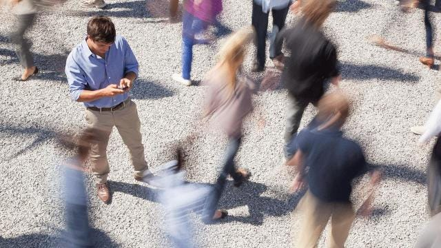 Watch out! New York may ban texting while walking across the street