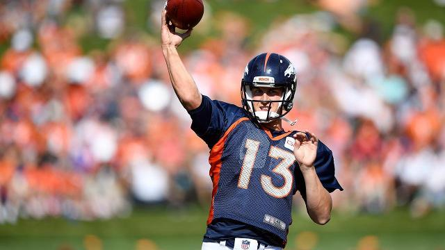 Trevor Siemian named Broncos starting quarterback