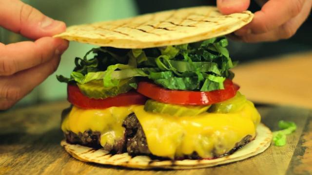 3 bun alternatives that'll rock your burger-loving world