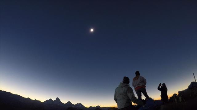 See breathtaking eclipse occur in different parts of US