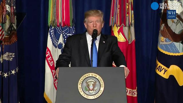 Trump outlines new American strategy for Afghanistan