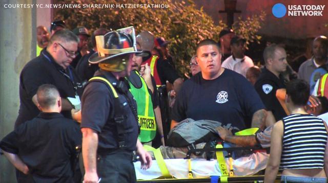 Scores hurt in high-speed train crash near Philadelphia