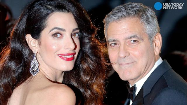 George and Amal Clooney pledge $1 million to 'stand up to hate'